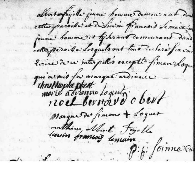 Avec signature de Noel bernard Obert, christophe Obert