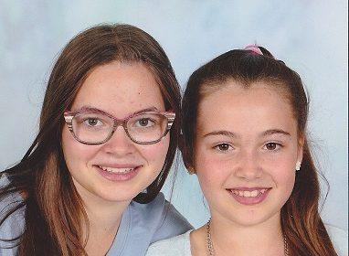 Anabelle et Victorine LEMAIRE filles de Dominique LEMAIRE
